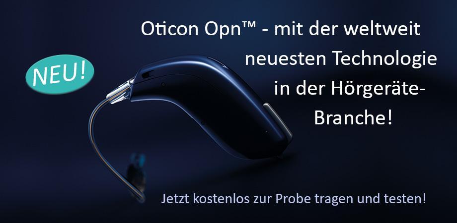 Zacho Oticon Opn Hörgeräte